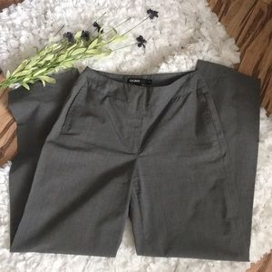 DKNY Petite Gray Career Trousers 2P